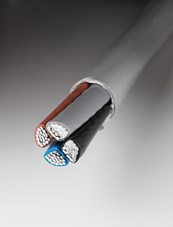 Halogen free installation cables - aluminum